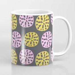 Sundial, 1950's inspired pattern Coffee Mug
