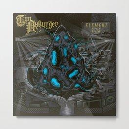 Tim Auburger Element 115 Album Art Metal Print