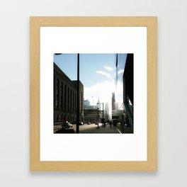 City Dreaming Framed Art Print