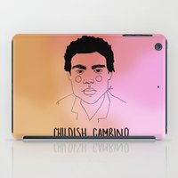 childish gambino iPad Cases featuring Childish Gambino by ☿ cactei ☿