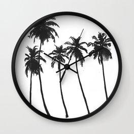 Five Palms Wall Clock