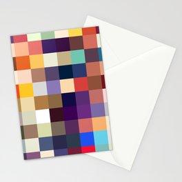 Kelpie - Multicolor Pixel Pattern Stationery Cards