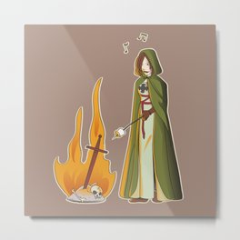 Seek Marshmallows Metal Print