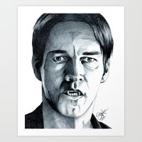 bill Art Prints featuring Bill by ShayMacMorran