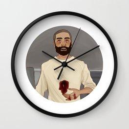 fuckin unreal Wall Clock