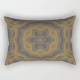 Goldblue Mandalic Pattern 5 Rectangular Pillow