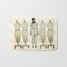 Dress Form Bath Mat