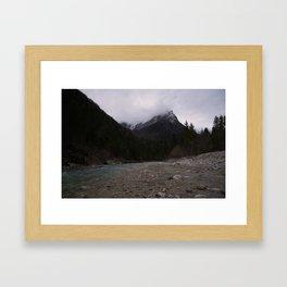 Koritnica River Framed Art Print