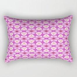 Lavender Flower Trellis Rectangular Pillow