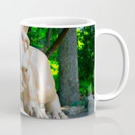 Penn State Nittany Lion Statue Print Coffee Mug