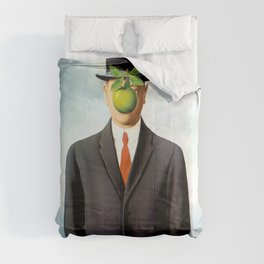 Rene Magritte The Son of Man, 1964 Artwork, Tshirts, Posters, Prints, Bags, Men, Women, Youth Comforters