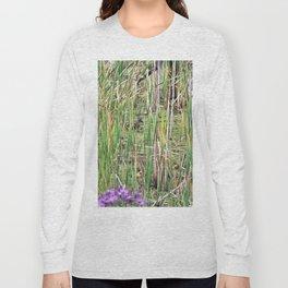 Mallard Duck in natural environment Long Sleeve T-shirt