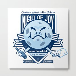 Night of Joy Metal Print