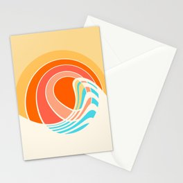 Sun Surf Stationery Cards