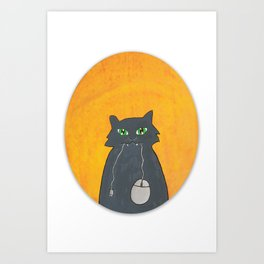 So, what you're gonna do now? Art Print