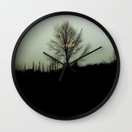 Melancholic Abduction Wall Clock