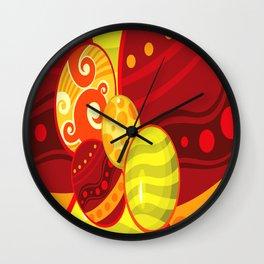 Easter Egg circle Wall Clock