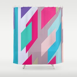 Abstracts colors Nr.2 Shower Curtain