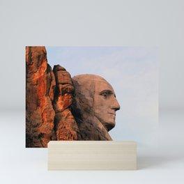 George Washington (Mount Rushmore) Mini Art Print