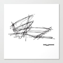 Gehry Doesn't Sketch to Scale Canvas Print
