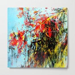 Floreal Abstraction Metal Print