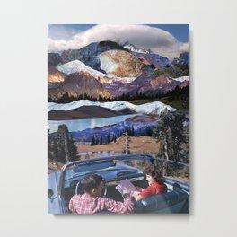 Fantastic trip to the mountains Metal Print