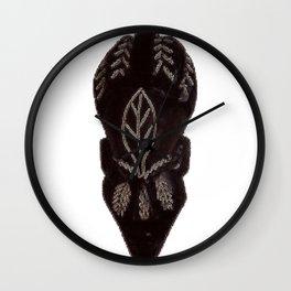 Ghanaian 'Village Queen' (Ghana) Wall Clock