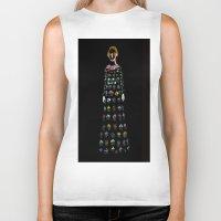 dress Biker Tanks featuring Dress by Danielle Case