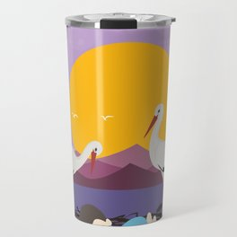 Courier adopted baby Travel Mug
