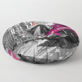 Pink Fire Truck Floor Pillow