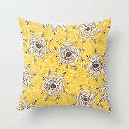 sema aspen gold brown Throw Pillow