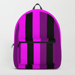 black and purple home decor Backpack