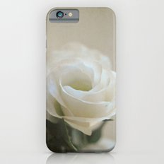 White Lisianthus iPhone 6s Slim Case