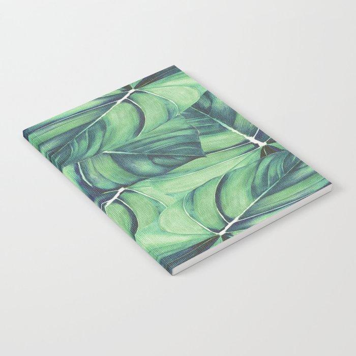 Palm Leaf Print Notebook