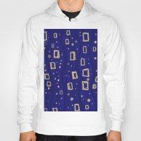 klimt Hoodies featuring Blue- Klimt inspired by Angela Capacchione