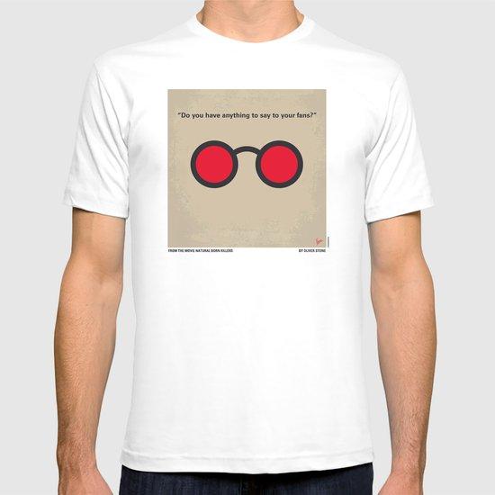 No139 My Natural Born Killers minimal movie poster T-shirt