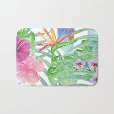 Malia's Tropical Print Bath Mat