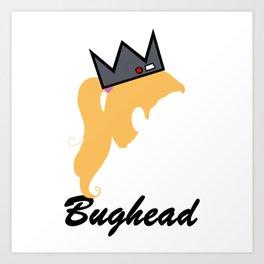 Bughead Art Print