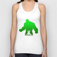 hulk Tank Tops featuring Hulk by Sport_Designs