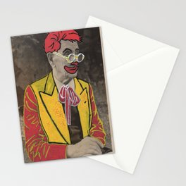 Ronald The man behind the makeup Stationery Cards