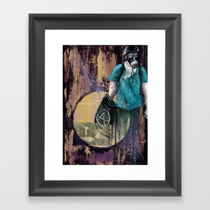 We are the FUTURE Framed Art Print