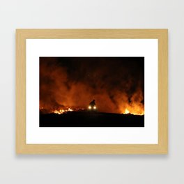 Escape from Hell Framed Art Print