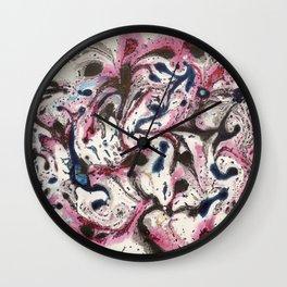 Marble 6 Wall Clock