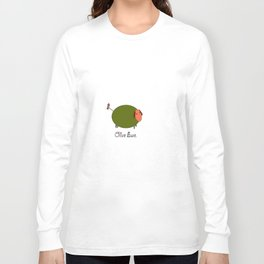 Olive Ewe. Long Sleeve T-shirt