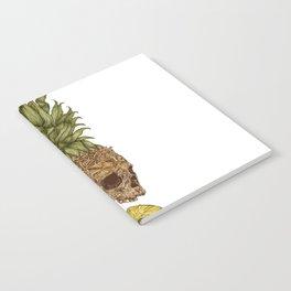 Pineapple Skull Notebook
