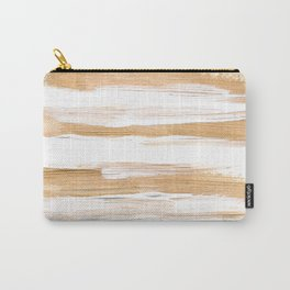 Golden Strokes Carry-All Pouch