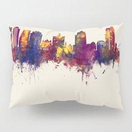 San Jose California Skyline Pillow Sham