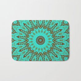 Kaleido in Oxidized Copper Bath Mat