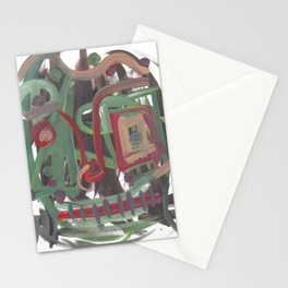 Abstract portrait 37 Stationery Cards