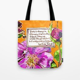 Promise of Summer Tote Bag